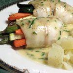Рыбные рулеты с овощами в мультиварке