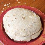 Тесто для тортильи (лепешки) с овсянкой
