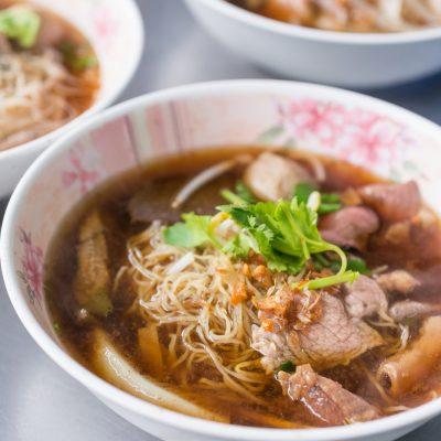 Вермишелевый суп на говядине с печенью и языком - рецепт с фото