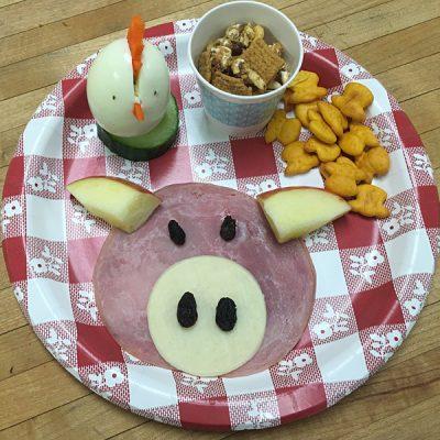Веселый завтрак «поросенок» - рецепт с фото