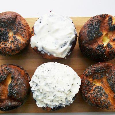 Сырники в духовке с маком и Маскарпоне - рецепт с фото