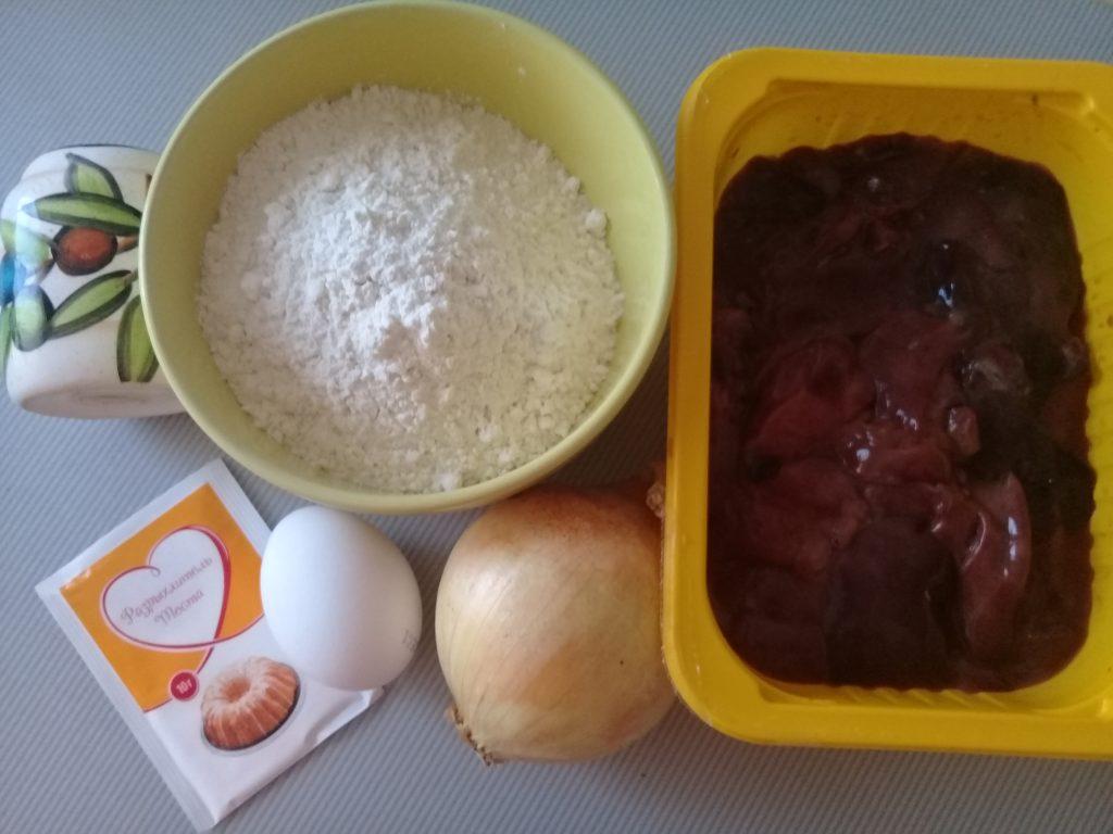 Фото рецепта - Пышные котлеты из куриной печени - шаг 1
