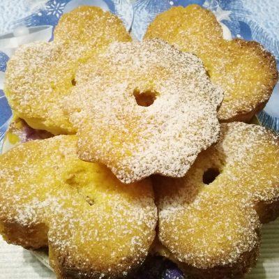 Апельсиновые кексы - рецепт с фото