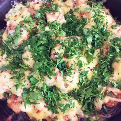 Индейка с картофелем и сыром, в духовке - рецепт с фото