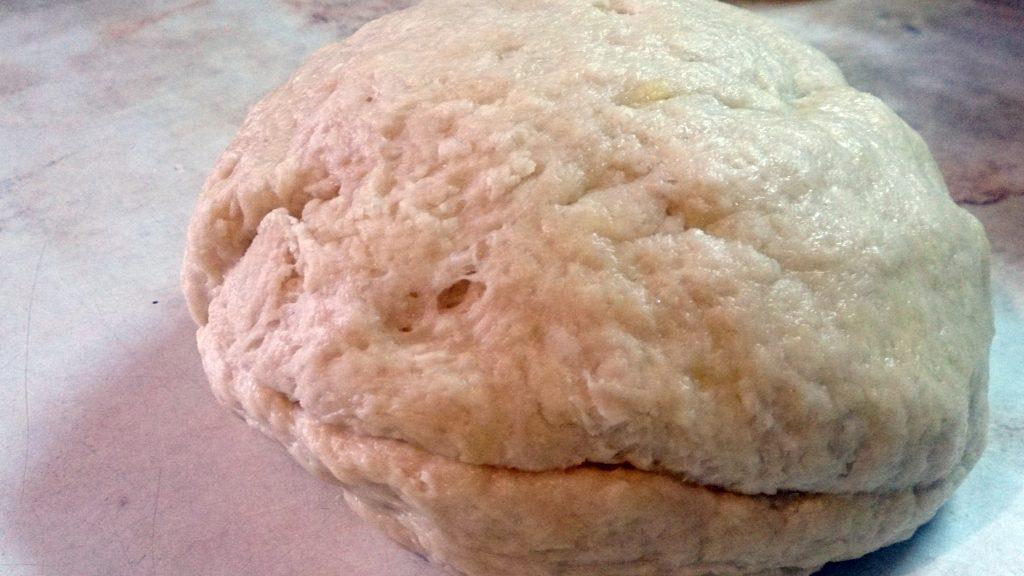 Фото рецепта - Дрожжевой пирог «Яблочные рожки» - шаг 5