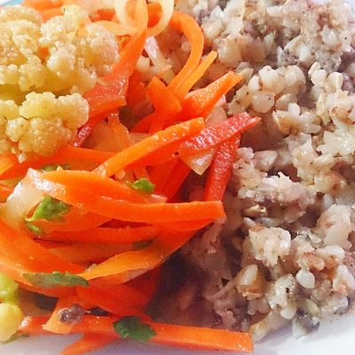 Цветная капуста по-корейски - рецепт с фото