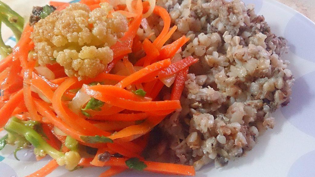 Фото рецепта - Цветная капуста по-корейски - шаг 6