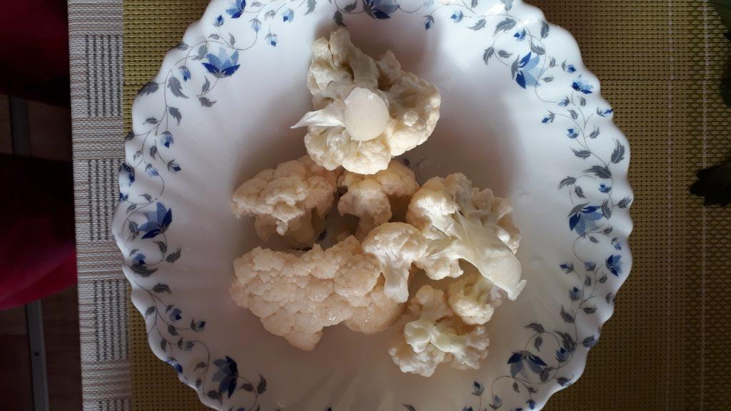 Фото рецепта - Вегетарианский тыквенно-гороховый суп-пюре с капустой - шаг 1