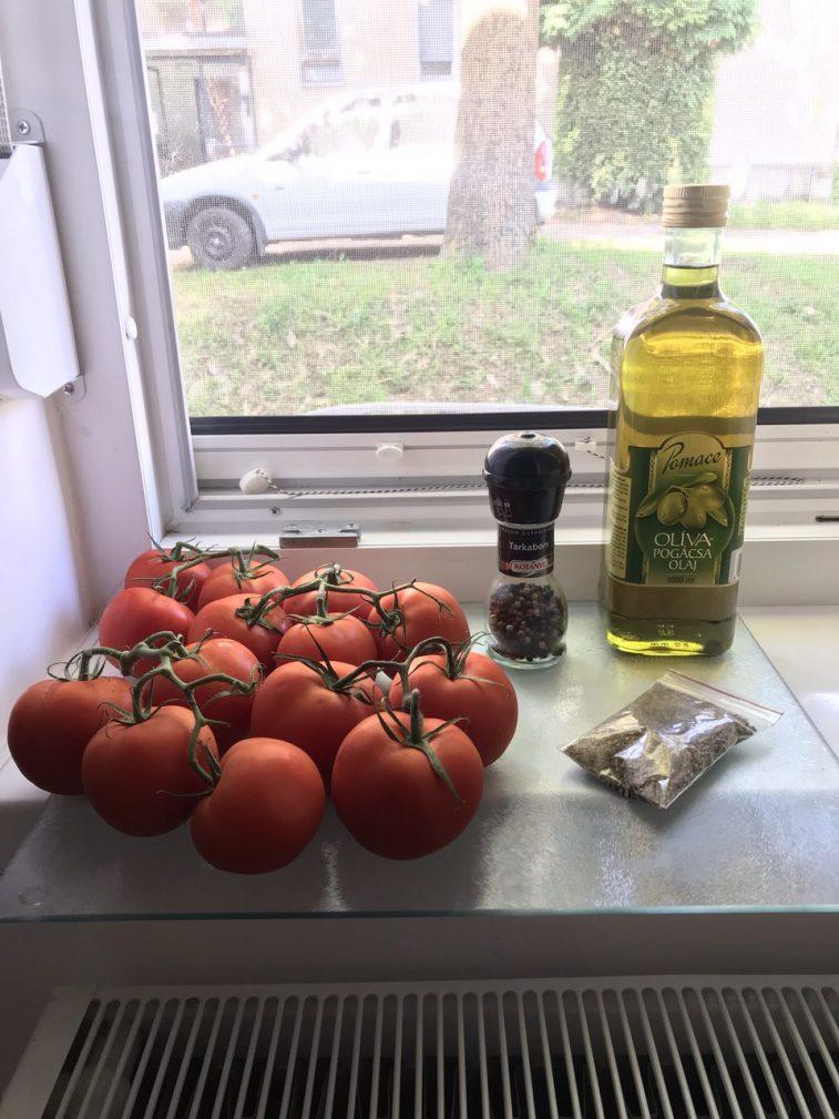 Фото рецепта - Вяленые помидоры и болгарский перец в оливковом масле - шаг 1