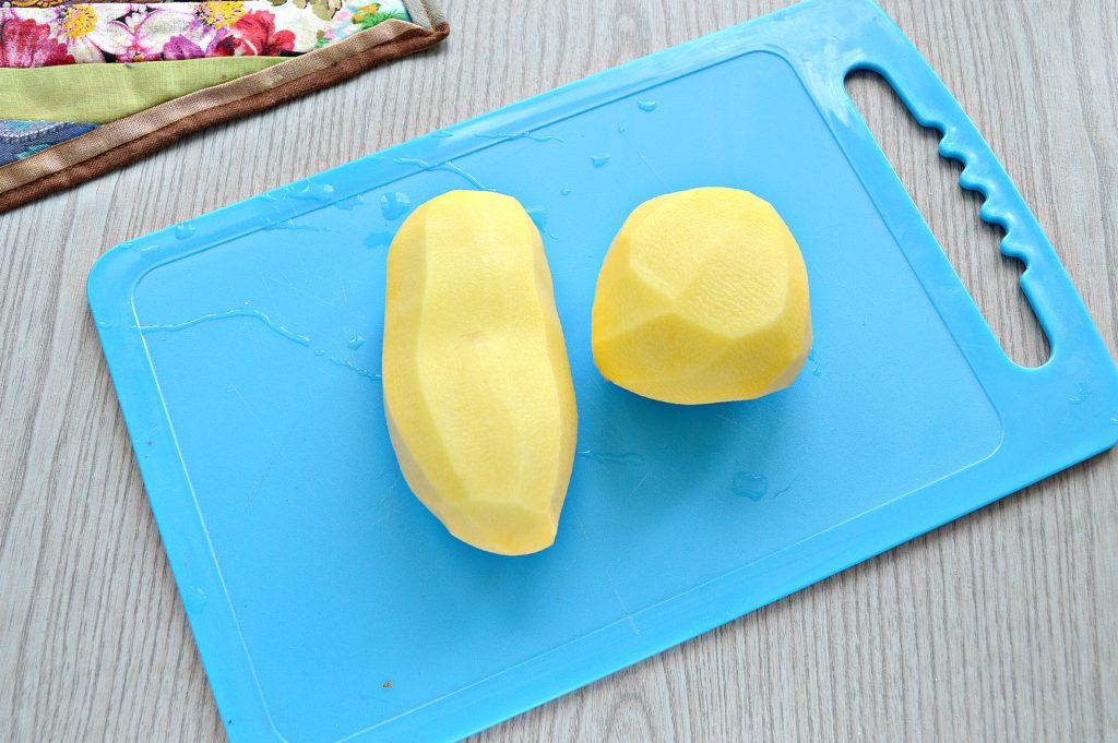 Фото рецепта - Жареный картофель с сыром - шаг 1