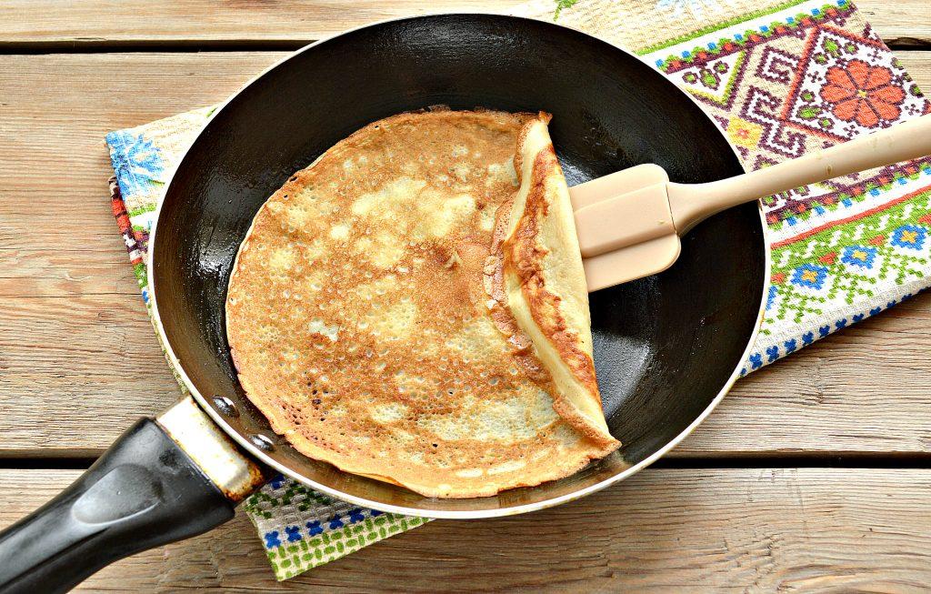 Фото рецепта - Домашние жареные  блинчики с творогом - шаг 1