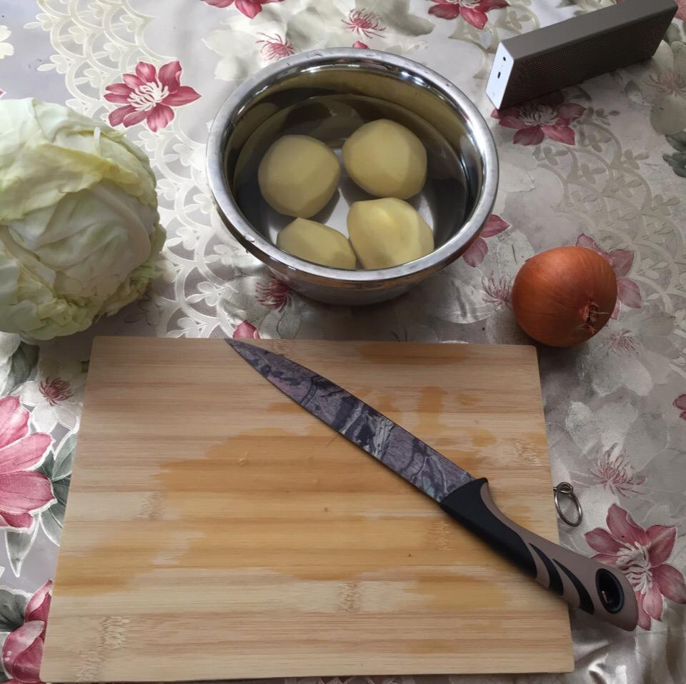 Фото рецепта - Борщ на говядине без свеклы - шаг 2