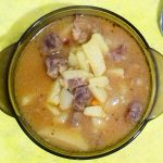 Картофельный суп с говядиной