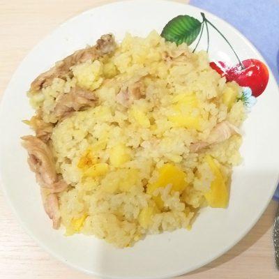 Куриный плов с картошкой - рецепт с фото