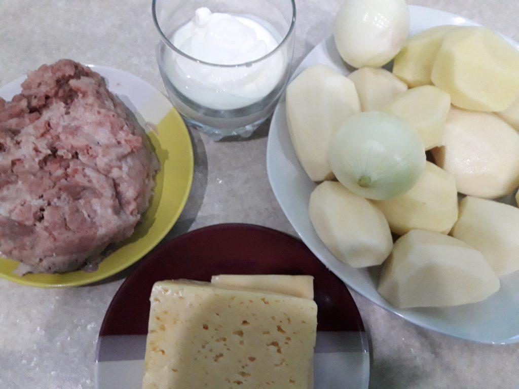 Фото рецепта - Запеканка из картофеля с фаршем - шаг 1