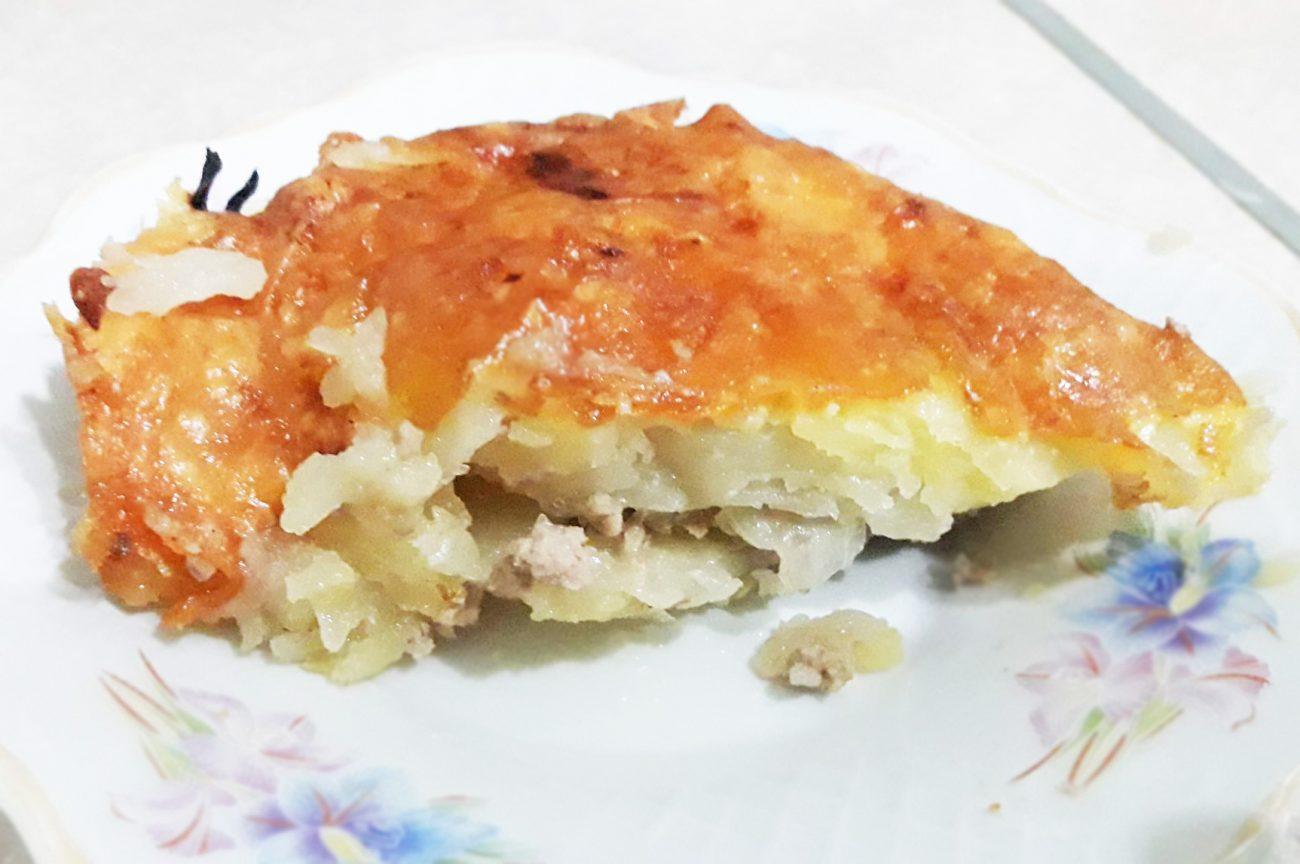 Запеканка из картофеля с фаршем