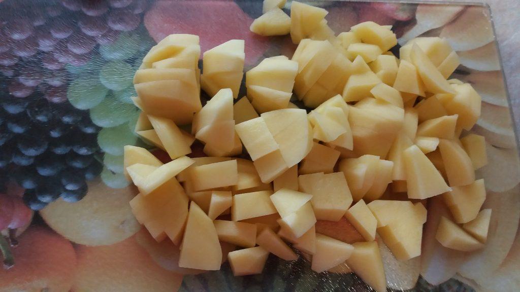 Фото рецепта - Картофельная запеканка с фаршем из индейки - шаг 1