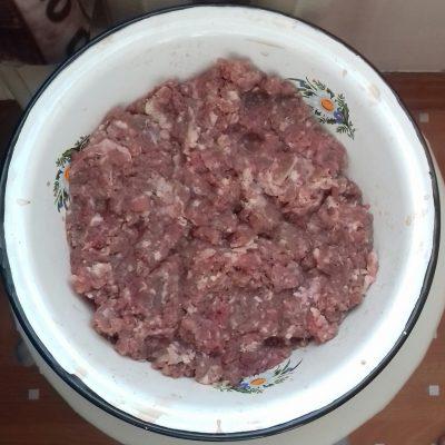 Фото рецепта - Мини-чебуреки с говяжьим фаршем - шаг 1