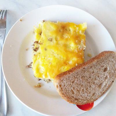 Картофельная запеканка с говяжьим фаршем в духовке - рецепт с фото