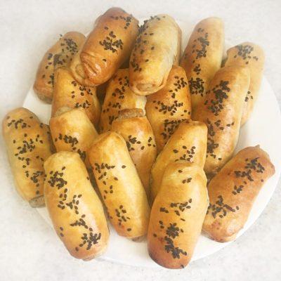 Молдавские пирожки (Вэрзэре) с картофелем и потрошками - рецепт с фото