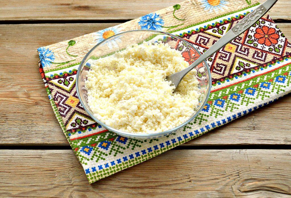 Фото рецепта - Домашние жареные  блинчики с творогом - шаг 3