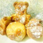 Ореховые новогодние кексики