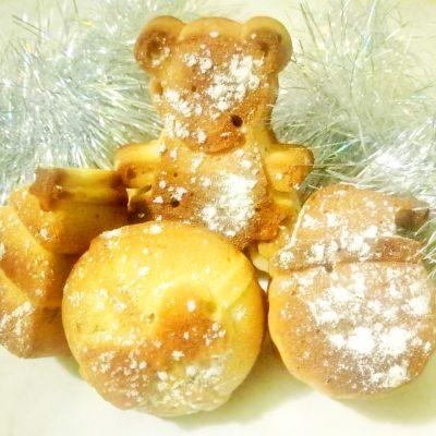 Ореховые новогодние кексики - рецепт с фото