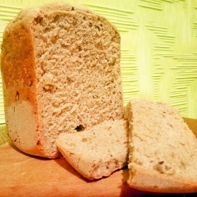 Хлеб из дрожжевого теста «Максимум пользы»,  в хлебопечке - рецепт с фото