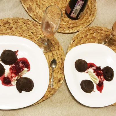 Шоколадные фонданы (кексы) - рецепт с фото