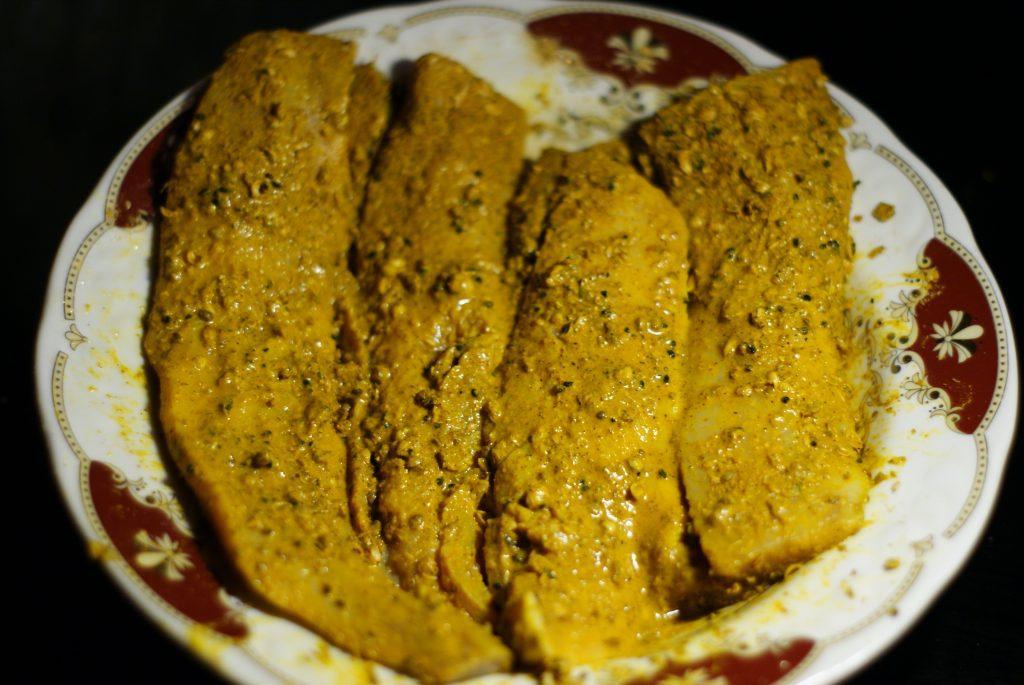 Фото рецепта - Филе сельди, жаренное на сковороде - шаг 5