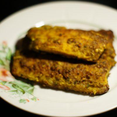 Фото рецепта - Филе сельди, жаренное на сковороде - шаг 7