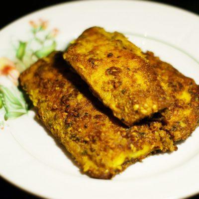 Филе сельди, жаренное на сковороде - рецепт с фото