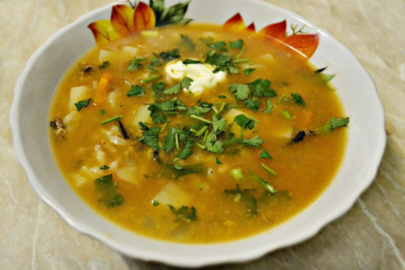 Суп с килькой в томатном соусе или уха по-быстрому