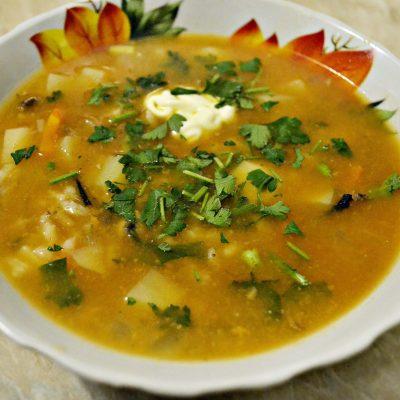 Суп с килькой в томатном соусе или уха по-быстрому - рецепт с фото