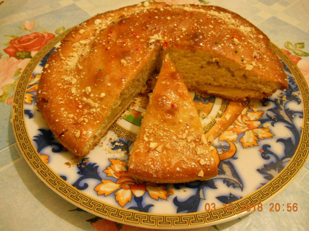 Фото рецепта - Пирог-кекс к чаю «Воскресенье» - шаг 6