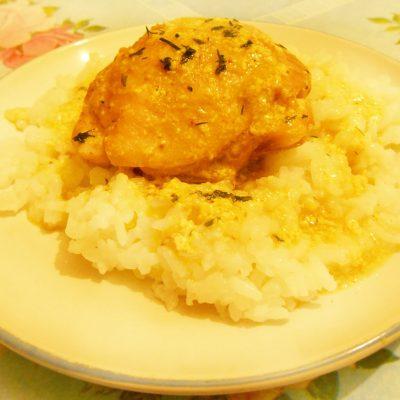 Бёдрышки куриные в молочном соусе «Карри», в мультиварке - рецепт с фото