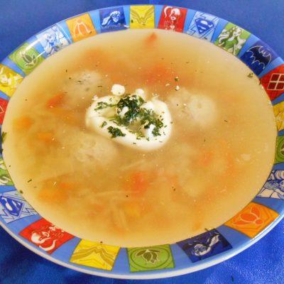 Щи с фрикадельками из индейки » Вкус детства « - рецепт с фото
