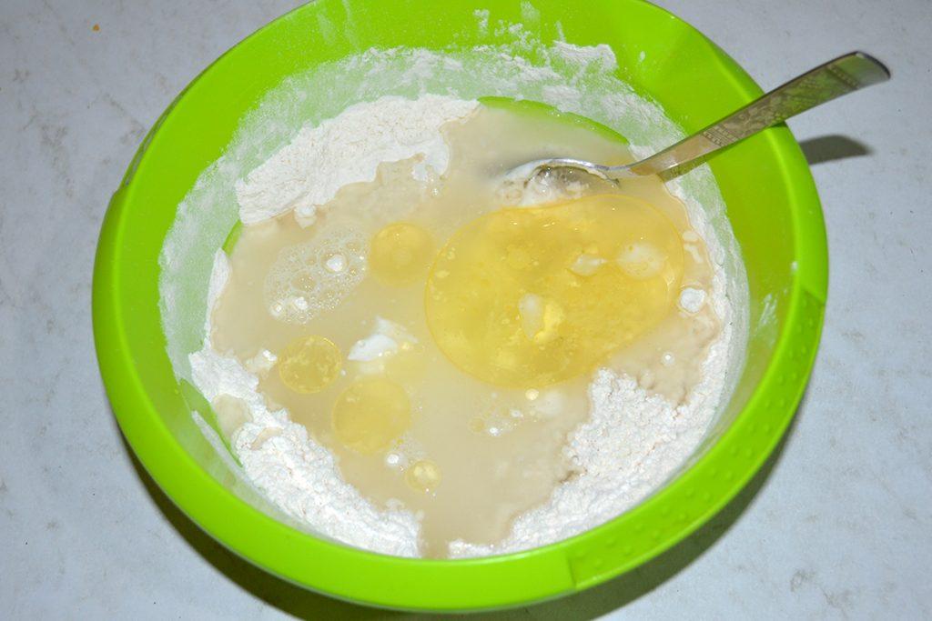 Фото рецепта - Хачапури по-аджарски - шаг 3