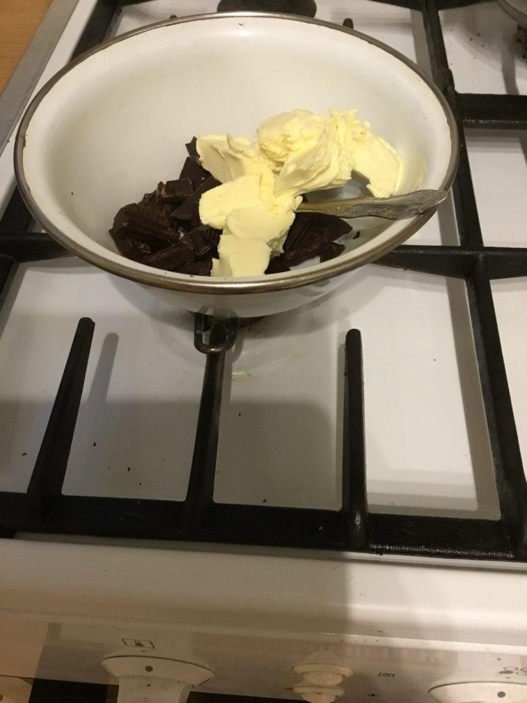 Фото рецепта - Шоколадные фонданы (кексы) - шаг 1