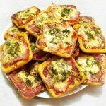 Снэки — «пицца» на печенье
