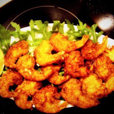 Креветки в кляре - рецепт с фото