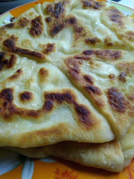 Фото рецепта - Плацынды с творогом (пироги-лепешки) - шаг 4
