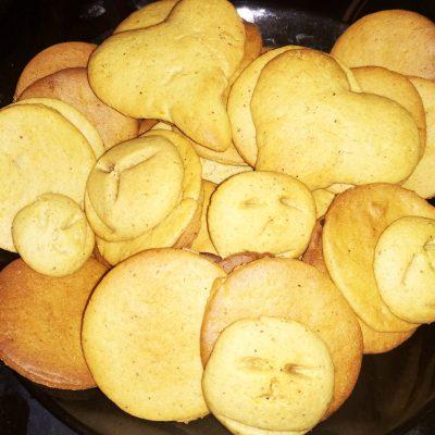 Пряное имбирное печенье - рецепт с фото