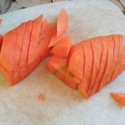 Фото рецепта - Осенние овощи с рассольным сыром - шаг 1