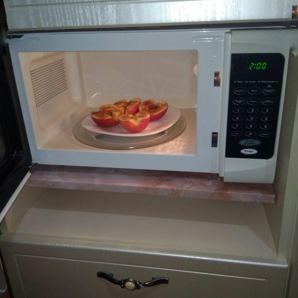 Фото рецепта - Яблоки с медом - шаг 3