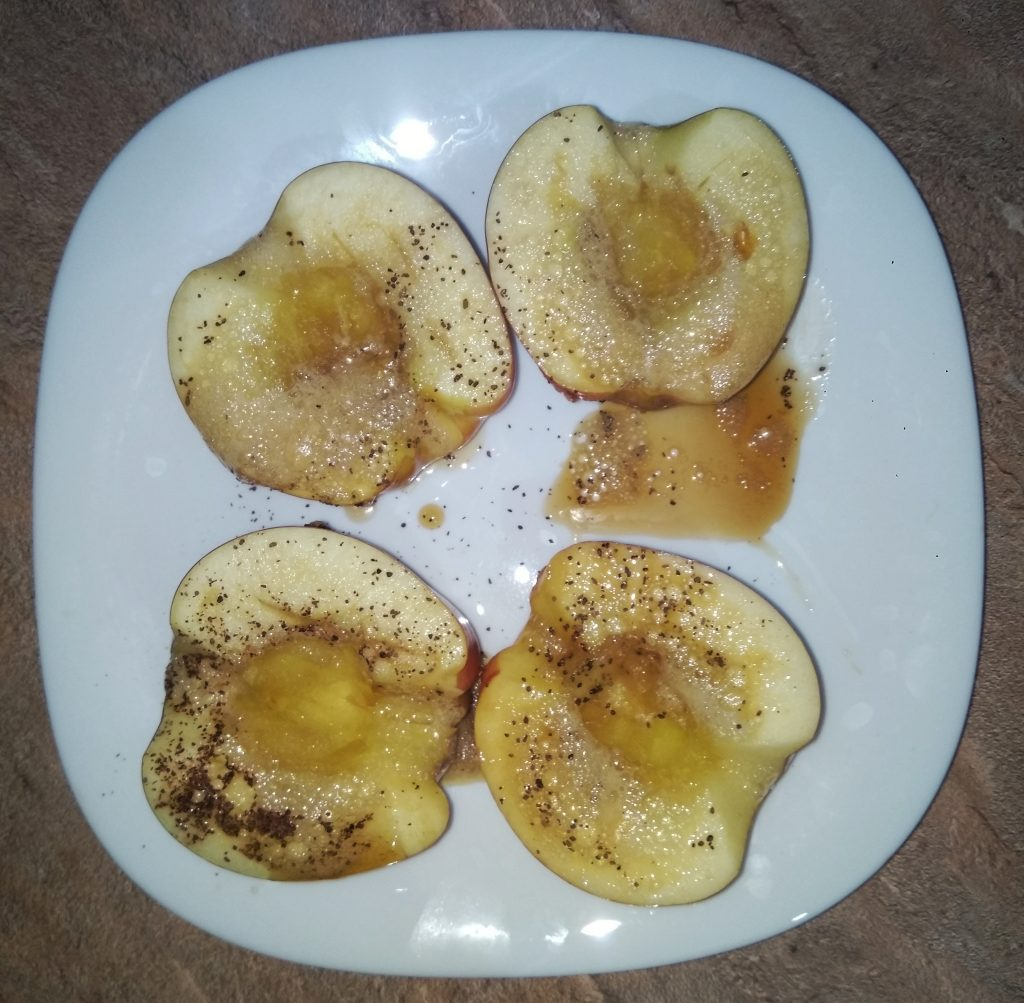 Фото рецепта - Яблоки с медом - шаг 4