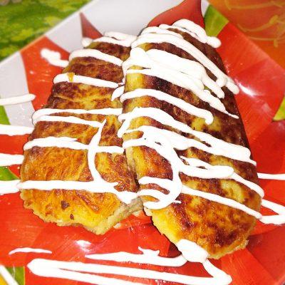 Картофельные зразы с грибами - рецепт с фото