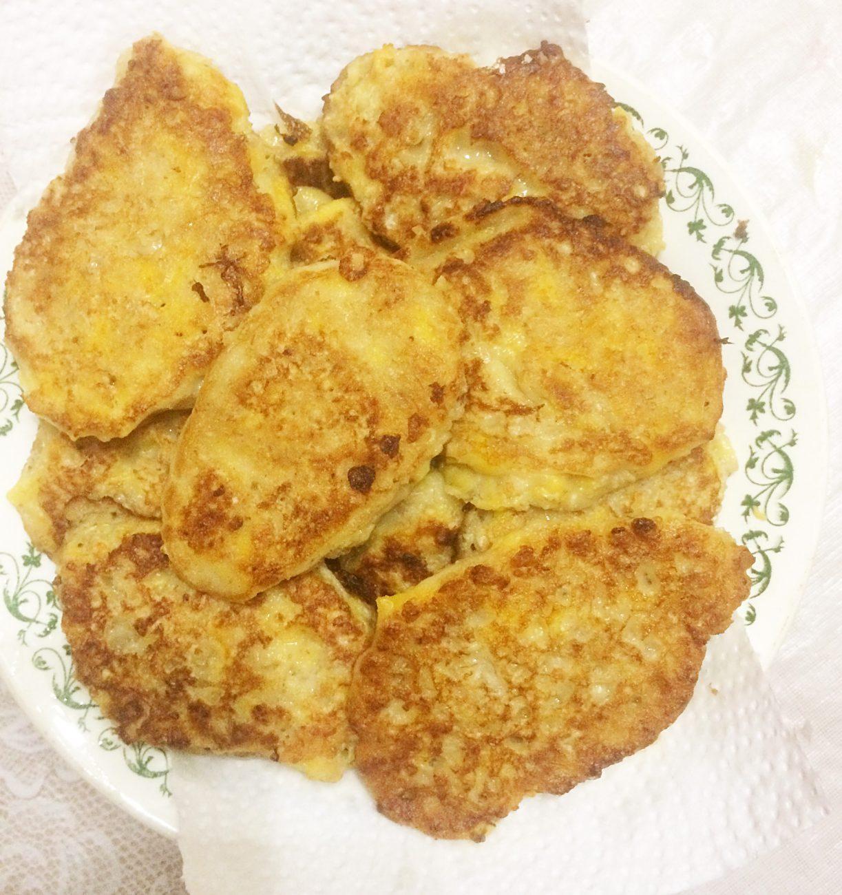 Полезные тыквенно-геркулесовые оладушки
