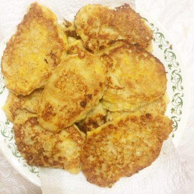 Полезные тыквенно-геркулесовые оладушки - рецепт с фото