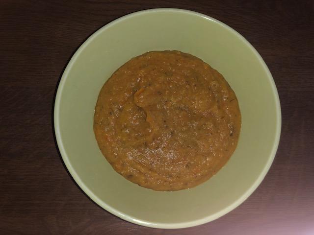 Фото рецепта - Суп-пюре с чечевицей и томатами - шаг 8